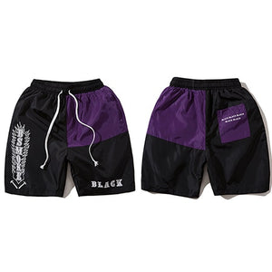 """Black"" Bsmoke Shorts - Black Crown Fashion"