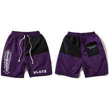 "Load image into Gallery viewer, ""Black"" Bsmoke Shorts - Black Crown Fashion"