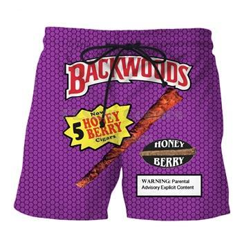 Sporty Backwoods Shorts - Black Crown Fashion