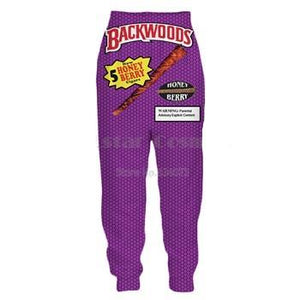 Purple Backwoods Joggers