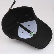 Load image into Gallery viewer, Embroidered Bud Hat - Black Crown Fashion