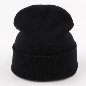 Rose Beanie - Black Crown Fashion