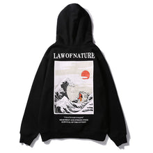 Load image into Gallery viewer, Law Of Nature Hoodie - Black Crown Fashion