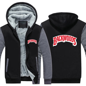 Backwoods Winter Jacket - Black Crown Fashion