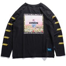 Load image into Gallery viewer, Greengunchi L/S Shirt - Black Crown Fashion