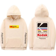 Load image into Gallery viewer, Kodak Hoodie - Black Crown Fashion