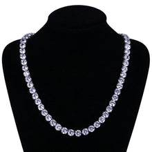 Load image into Gallery viewer, Premium Tennis Chain 2.5 mm-10mm - Black Crown Fashion