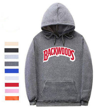 Load image into Gallery viewer, Classic Backwoods Hoodie - Black Crown Fashion