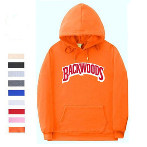 Classic Backwoods Hoodie - Black Crown Fashion