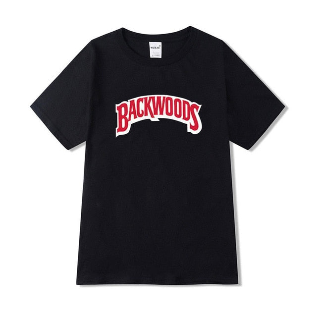 Backwoods Classic T-shirt - Black Crown Fashion