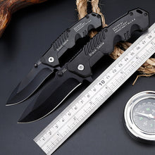 Load image into Gallery viewer, Vantablack Lightweight Folding Tactical Knife - Black Crown Fashion