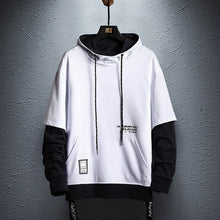 Load image into Gallery viewer, Future-Tec Hoodie - Black Crown Fashion