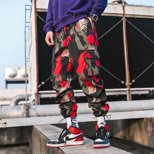 "Camo ""5"" Joggers - Black Crown Fashion"