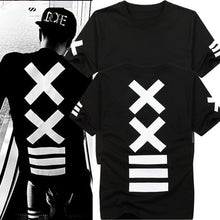 Load image into Gallery viewer, XXIII T-shirt - Black Crown Fashion