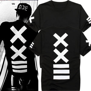 XXIII T-shirt - Black Crown Fashion