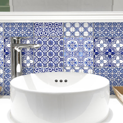 Tilevera stick on vinyl wall tiles
