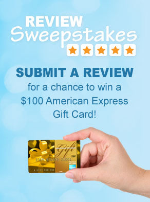 Submit a review for a chance to win a $100 gift card