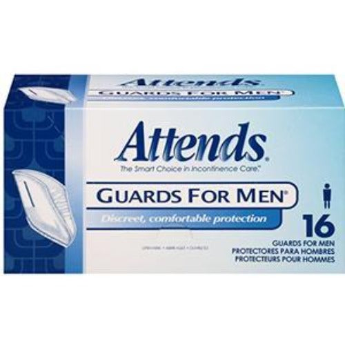 Disposable Products-Attends Guards for Men Unisize