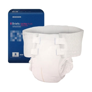 McKesson Stay Dry Ultra Plus Bariatric Briefs