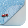 Printed Waterproof Bed Pad - Blue Stars