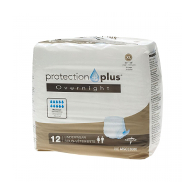 Protection Plus Extended Capacity Protective Underwear