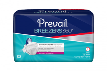 Disposable Products-Prevail® Breezers360°™ Brief, Ultimate Absorbency