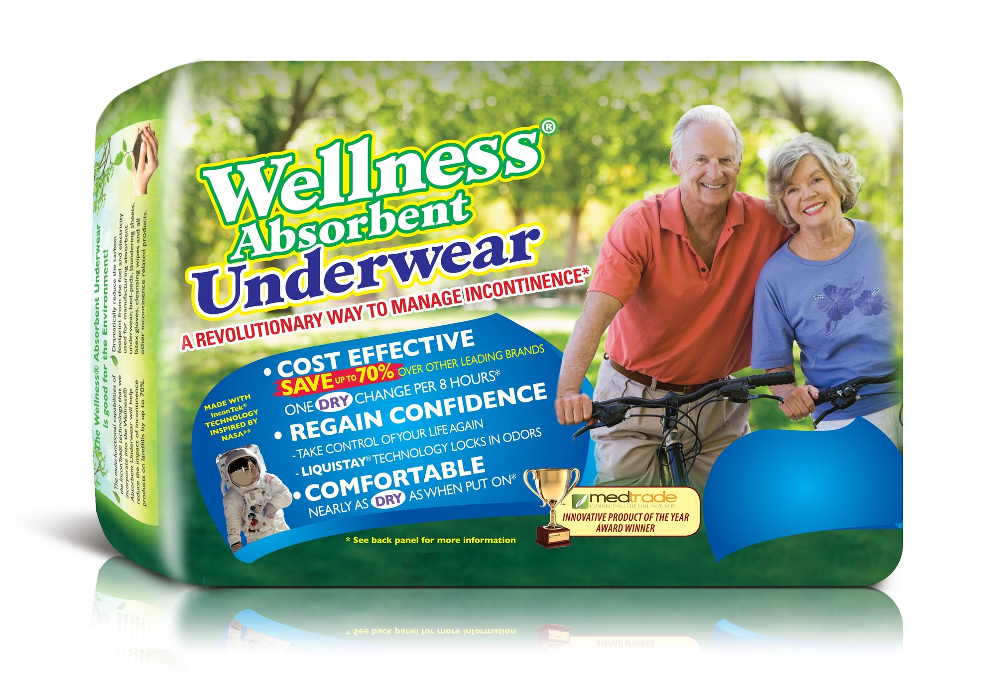 Wellness Absorbent Underwear (Pull On Design)