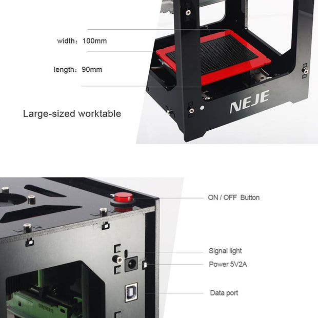 Mini USB Laser Engraving Machine