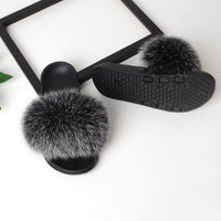 Women Furry Flat Slippers