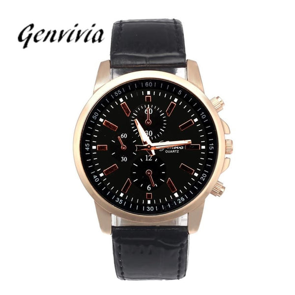 Leather Quartz Luxury Watches