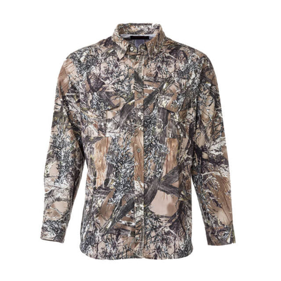 Insect Repelling Poly Cotton Camouflage Hunting Jacket