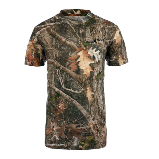 Insect Repelling Camouflage Hunting SS Shirt 2: Washable SS Shirt with Embedded EPA-Approved Insect Repellent.