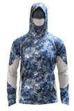 Performance Fishing Hoodie with Built in Insect Repellent
