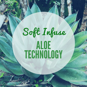 Soft Infuse Slippers: Aloe Infused Comfort Sock