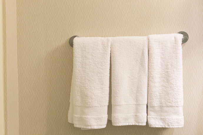 Fresh ProTek Hand Towel: Quick Drying, Anti-Odor, Antimicrobial Infused Towel