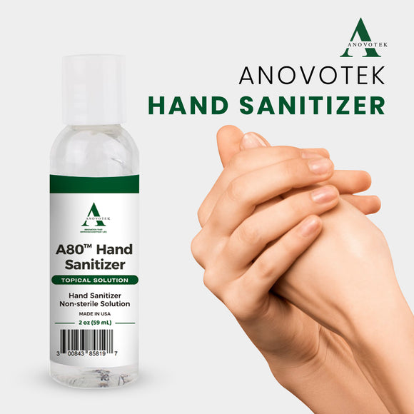 2 Oz A80 Hand Sanitizer
