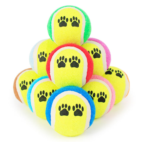 Tennis Ball 3 Pack for Small Pets