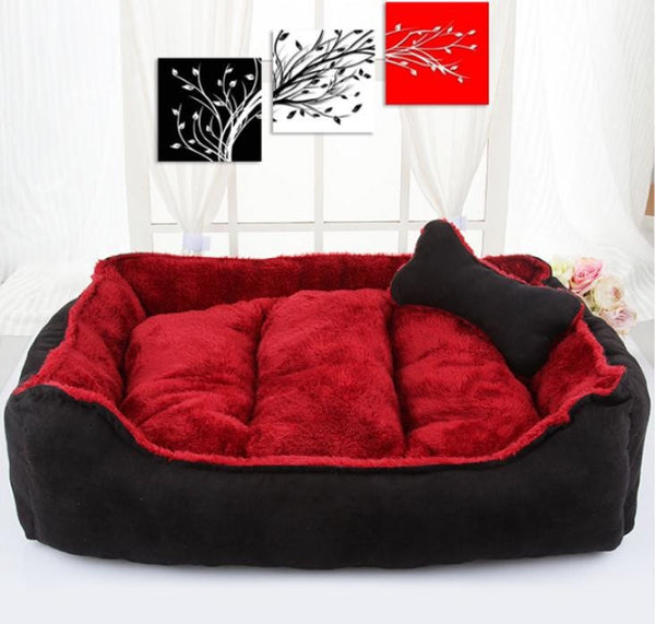 """Nippy Collection"" Cotton Cushion Kennel Pets Bed"