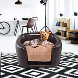 """CoCo"" Collection-PVC Soft Pet Dog Bed with Cushion"