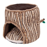 'Cuddles' Small Pets Tree Style Soft Cotton Bed House