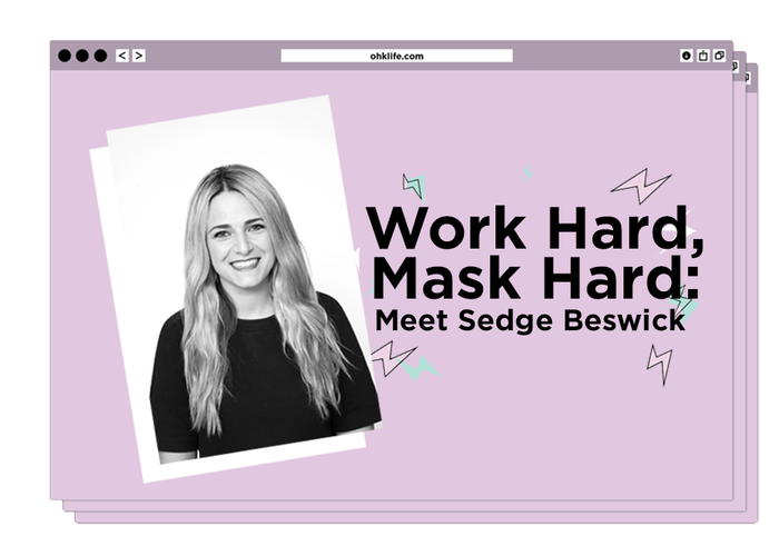 Work Hard, Mask Hard: Meet Founder of SEENConnects, Sedge Beswick