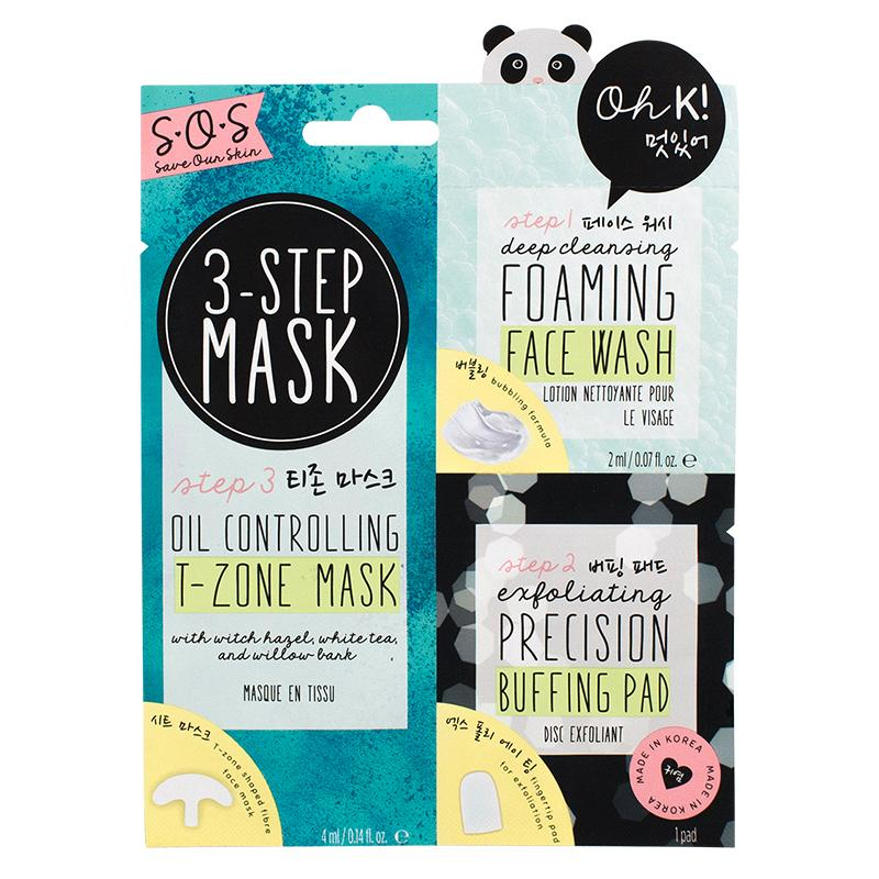 Oh K! SOS 3-Step T-Zone Mask