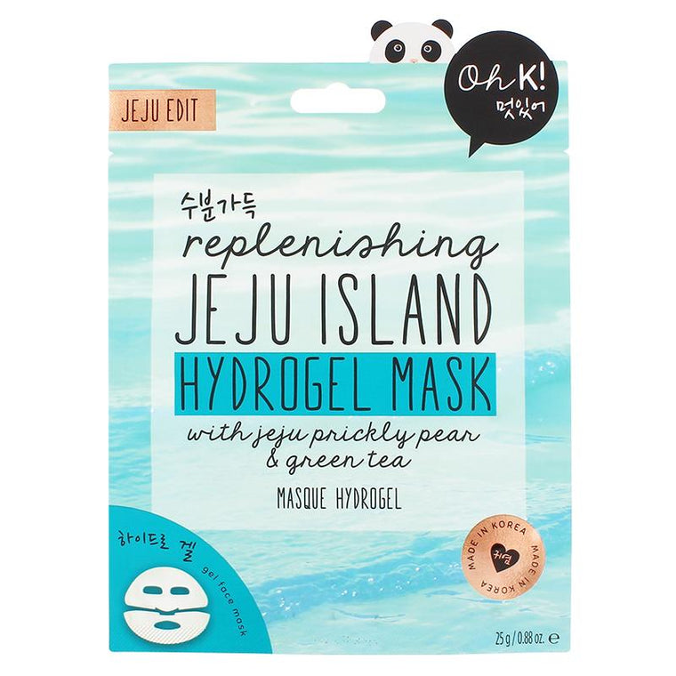 Oh K! Jeju Mineral Lava Sea Water Hydrogel Mask