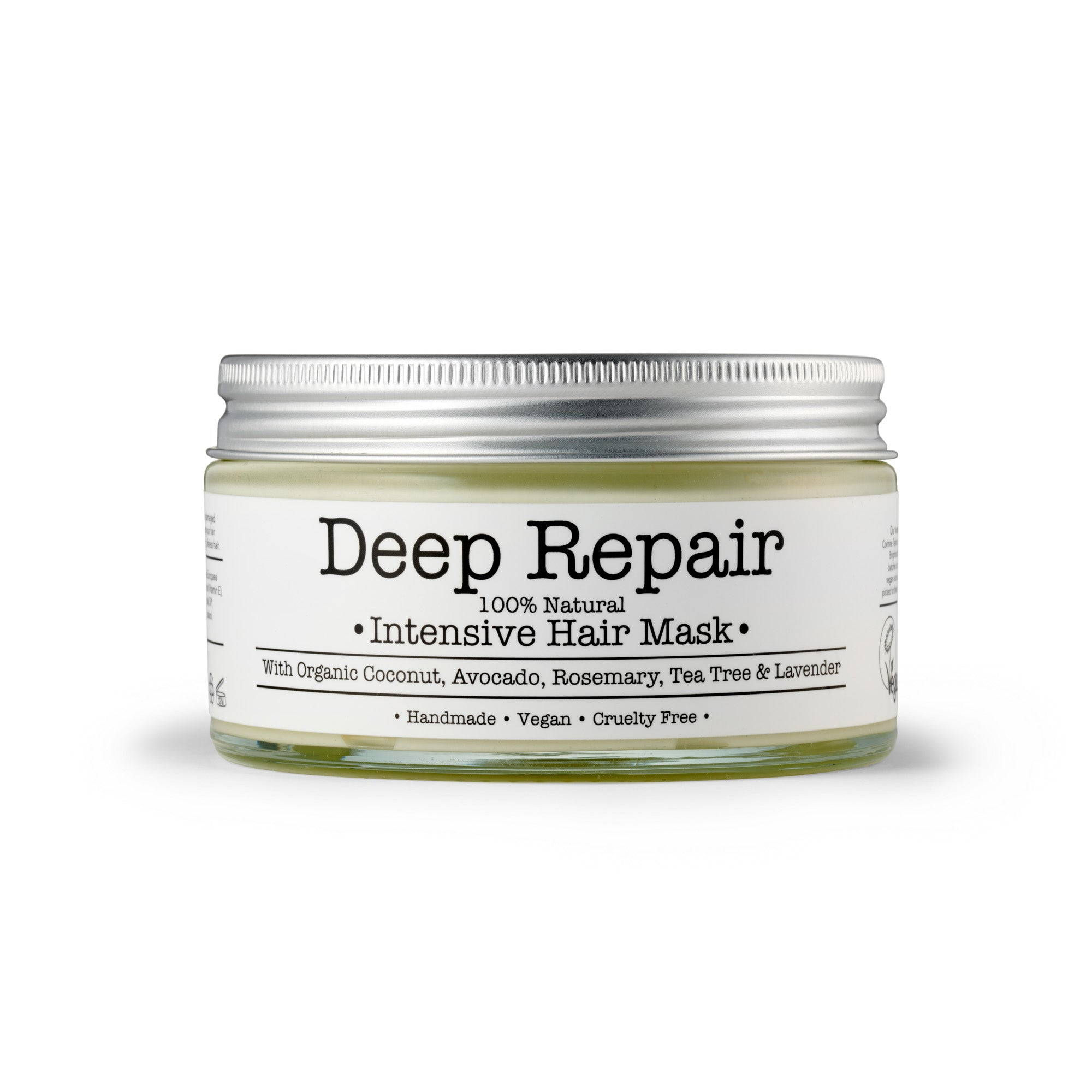 Deep Repair Hair Mask by Corinne Taylor. 100% natural, vegan, cruelty free, organic.