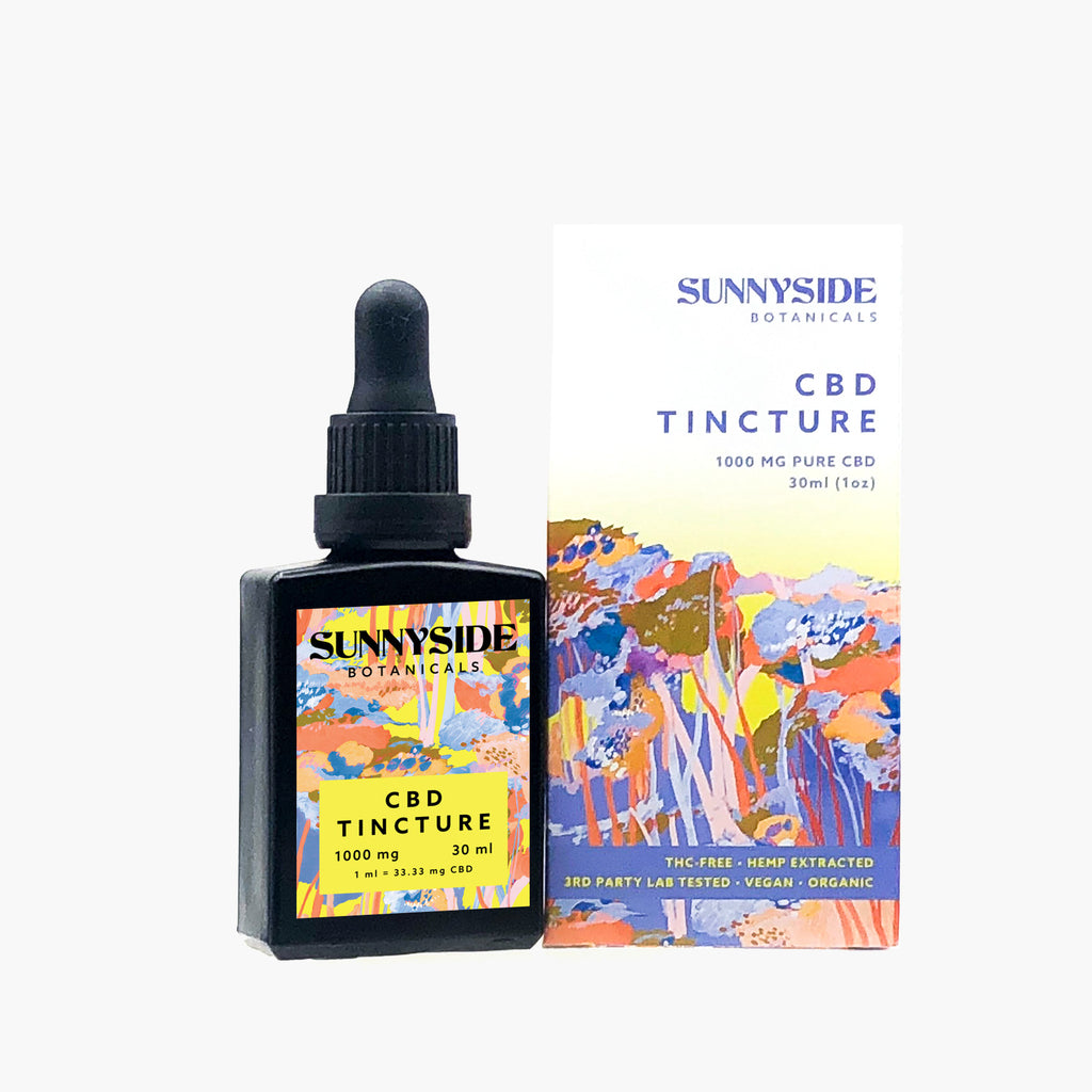 1000mg CBD Tincture + 1g Raw Isolate Bundle
