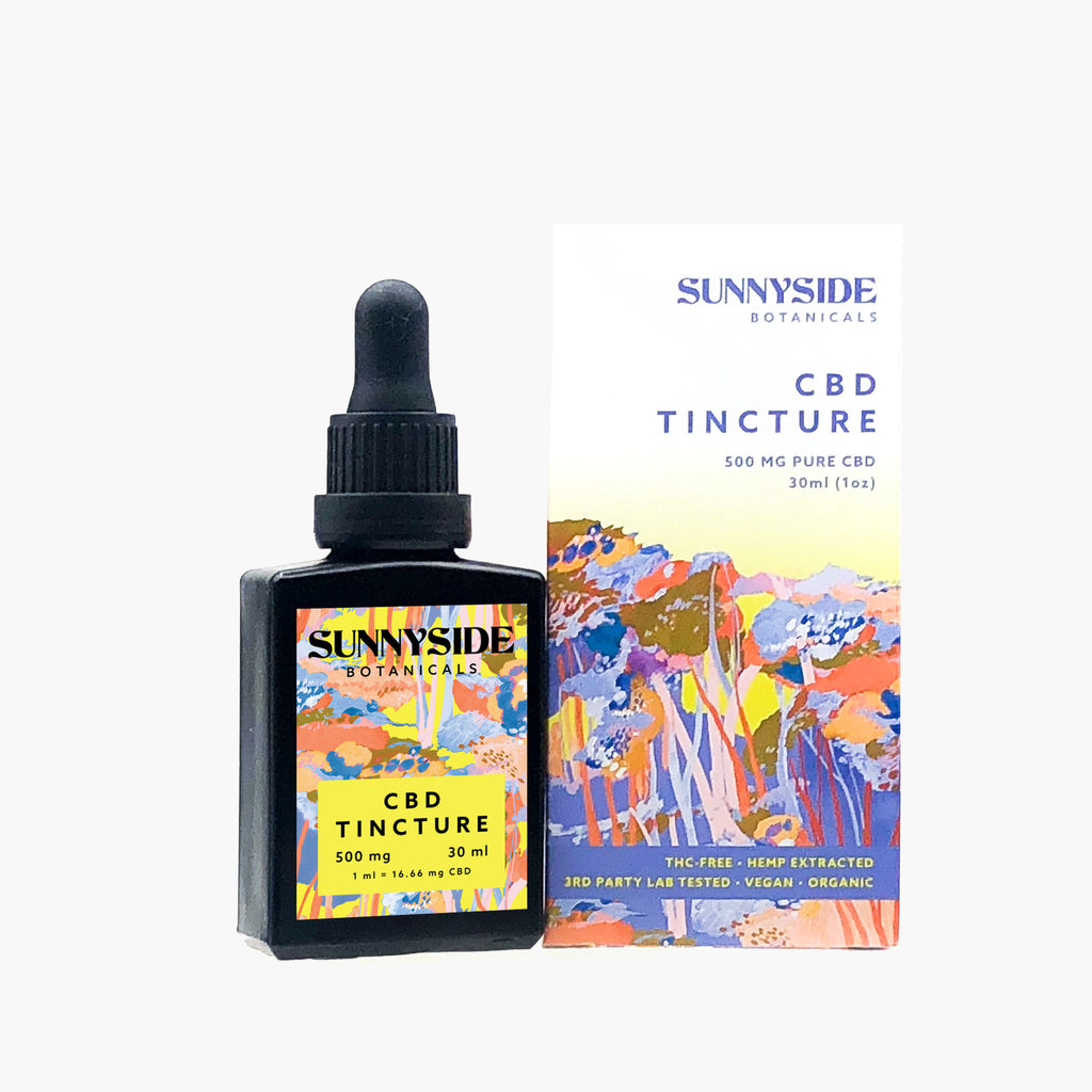 CBD Tincture - 500mg  |  30ml - SunnySide Botanicals