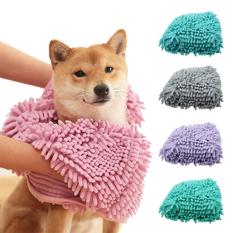 Super Tail-Wagger Pet Towel (For Dogs & Cats) - lessmoney.com