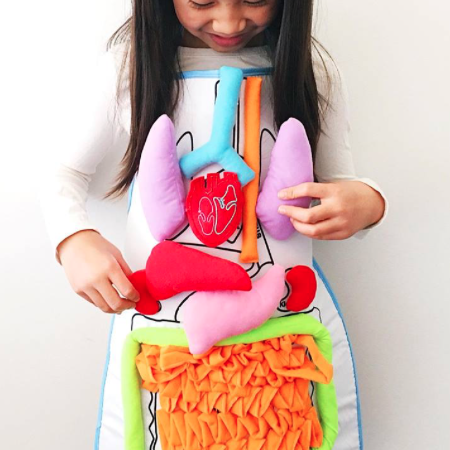 Kids Body Apron Toy - lessmoney.com