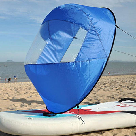 Kayak Wind Sail - lessmoney.com