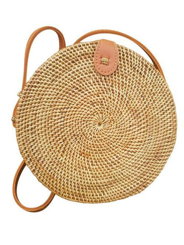 Rattan Fashioin Hand-Made Cross Over Bohemia Bag - lessmoney.com